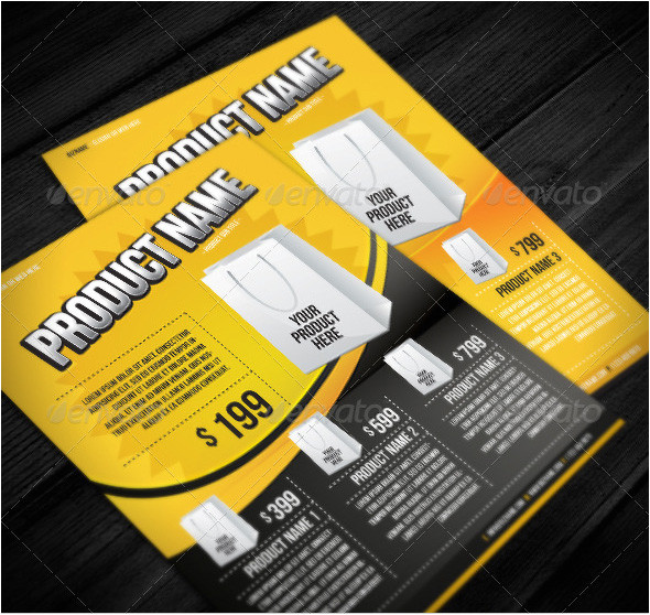 28 beautiful product flyer templates