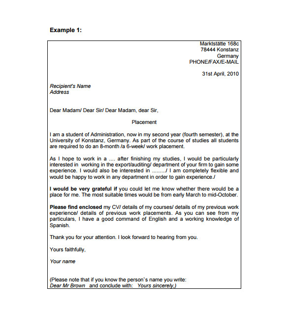 professional email template