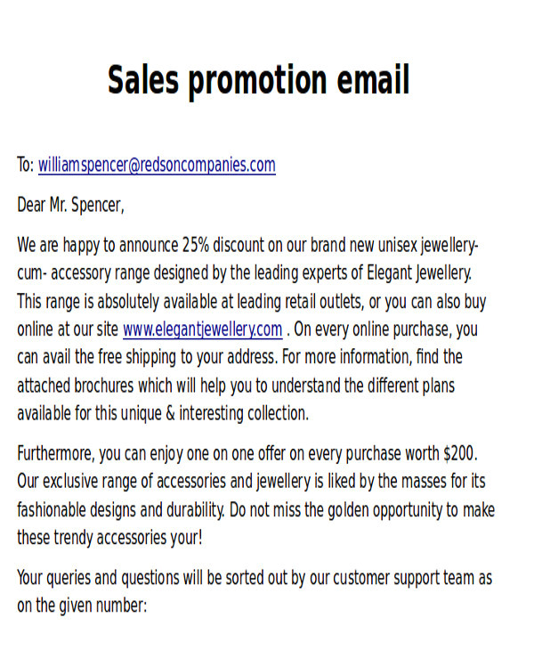 Promotional Email Templates 9 Promotional Email Templates Free Psd Eps Ai format