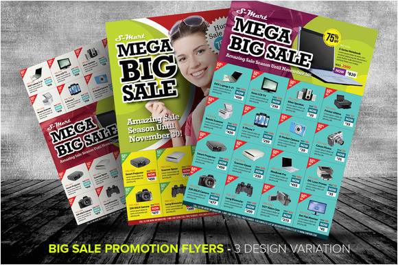 12955 big sale promotion flyer templates