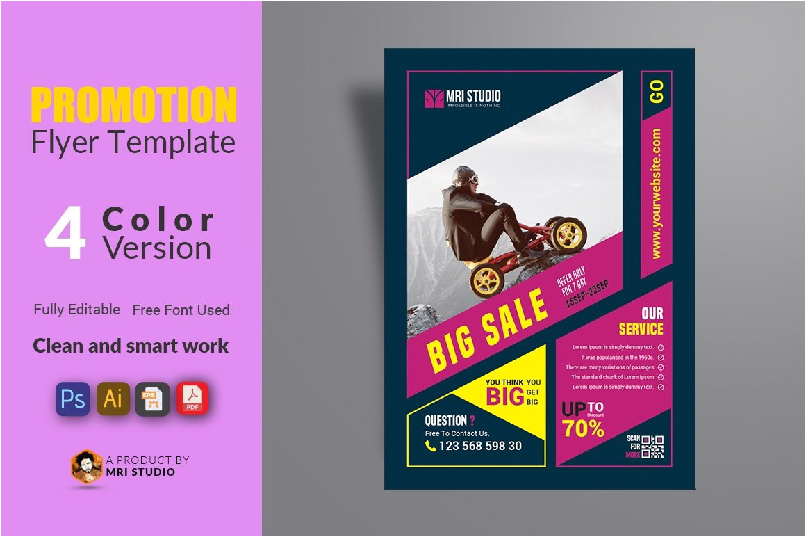 1862629 promotion flyer template