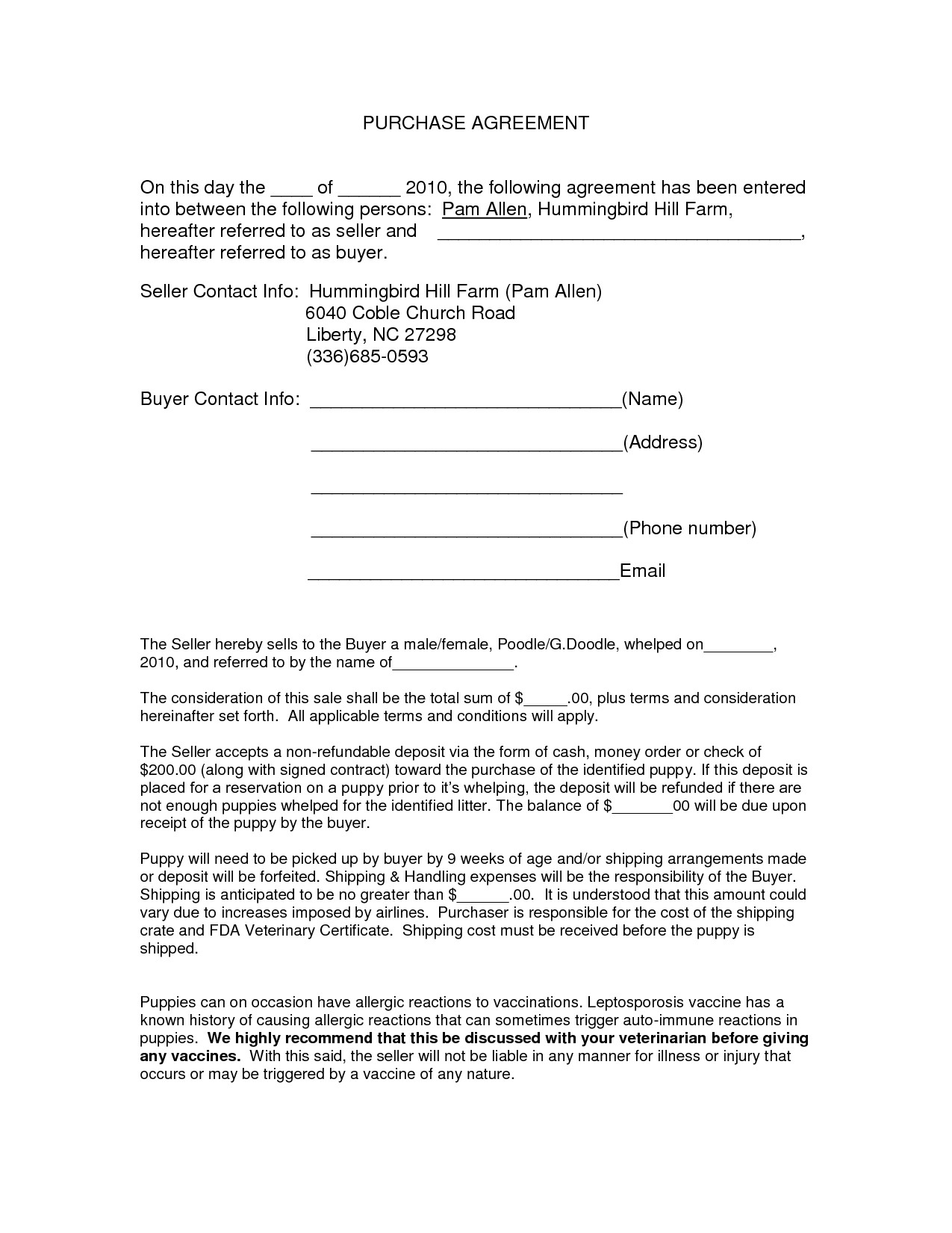Purchase Contract Cancellation Agreement Template Auto Purchase Agreement form Doc by Nyy13910 Purchase