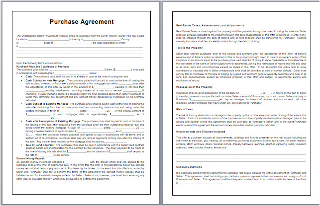 Purchasing Contract Template Contract Templates Archives Microsoft Word Templates