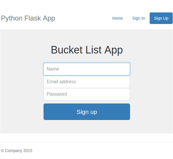 creating a web app from scratch using python flask and mysql cms 22972