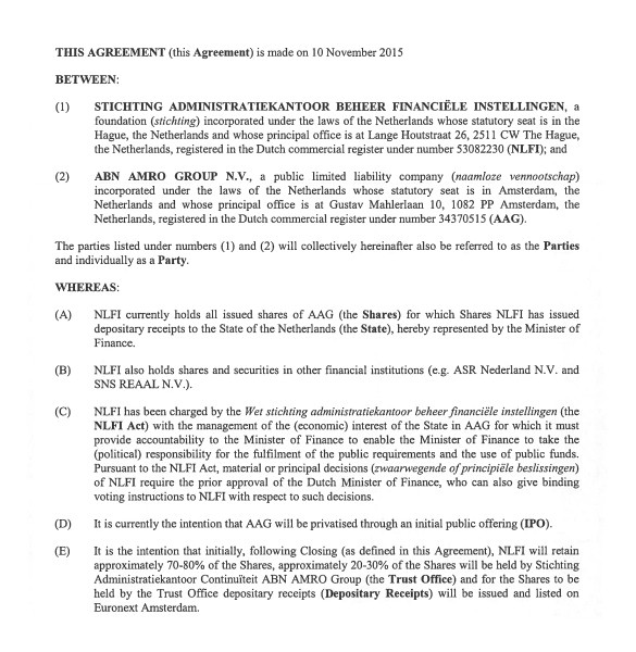 relationship agreement template