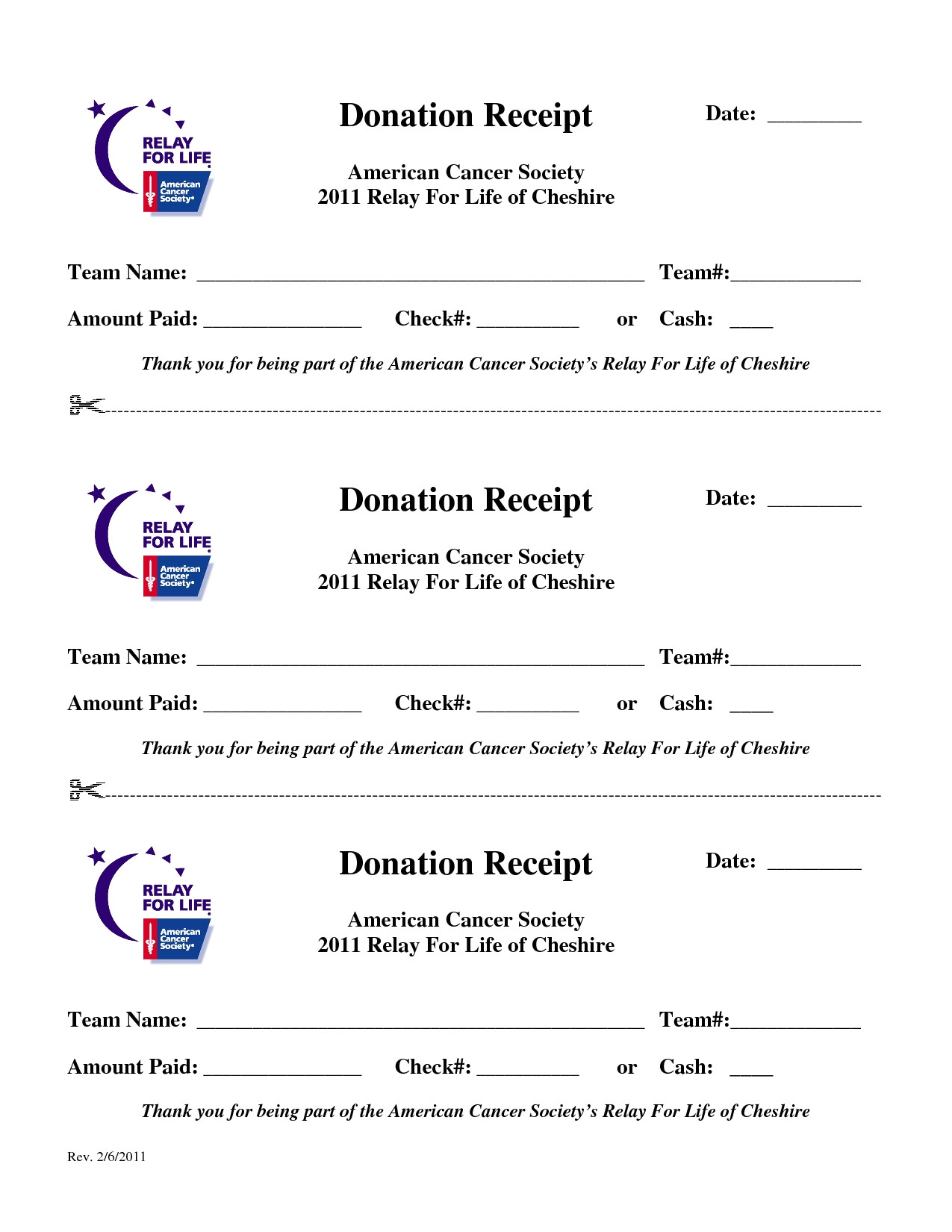 relay for life donation letter template