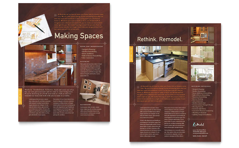 home remodeling datasheet templates co0060901d