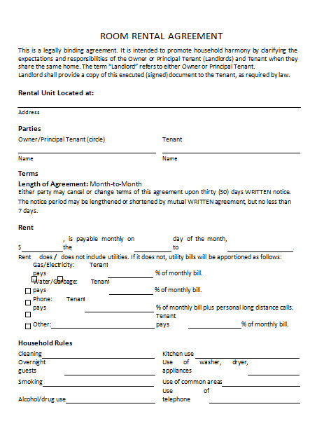 rental agreement template write a perfect rental agreement