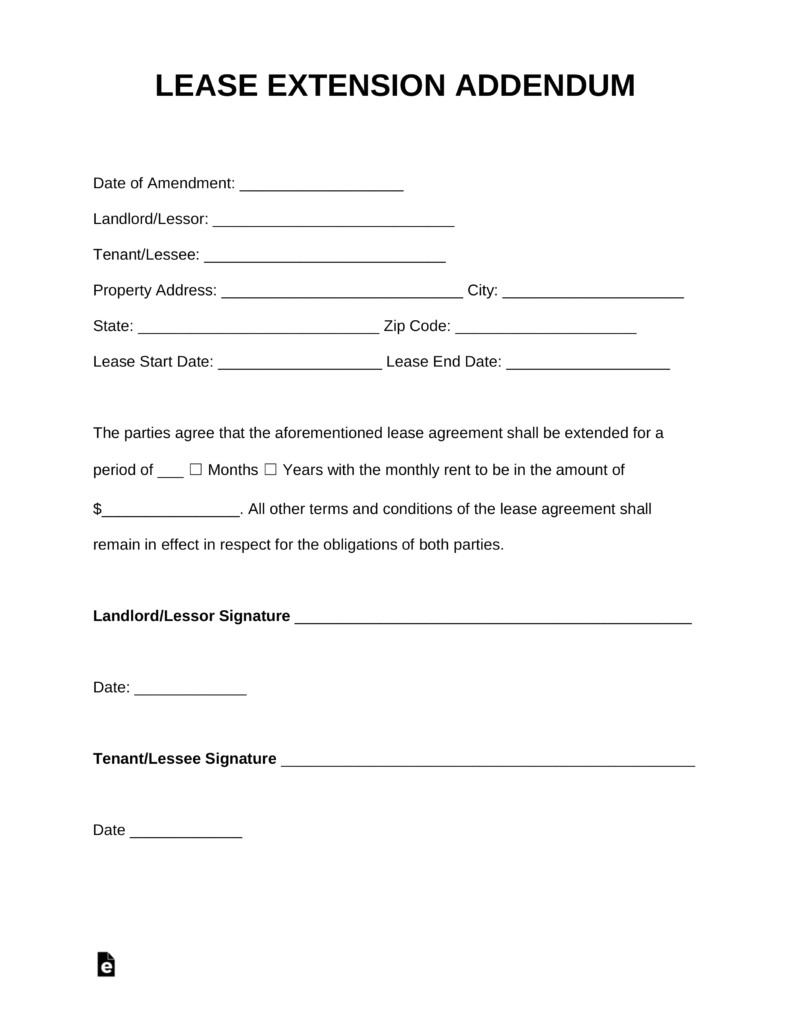 free simple lease agreement form picture