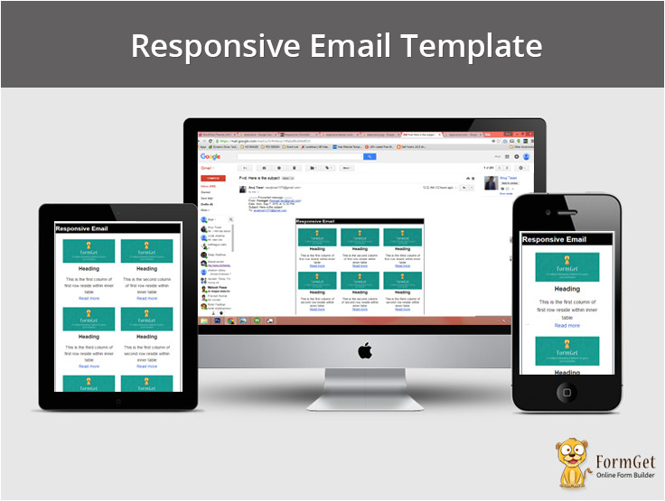 Responsive Email Template Tutorial How to Design Responsive Email Template formget