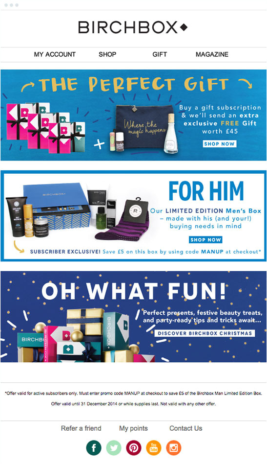 10 retail email campaigns we love create your own