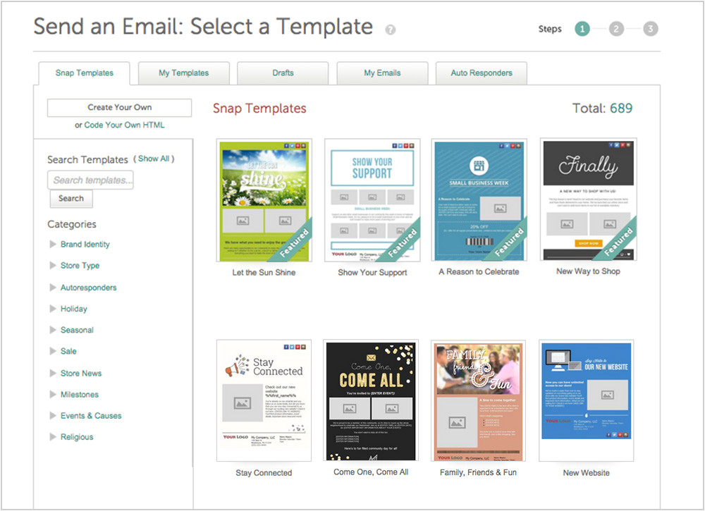 Retail Email Templates Retail Specific Email social Posts and Websites Snapretail