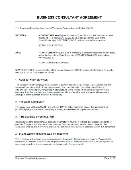 Retainer Contract Template Uk Sample Retainer Agreement Consulting Services Lera Mera
