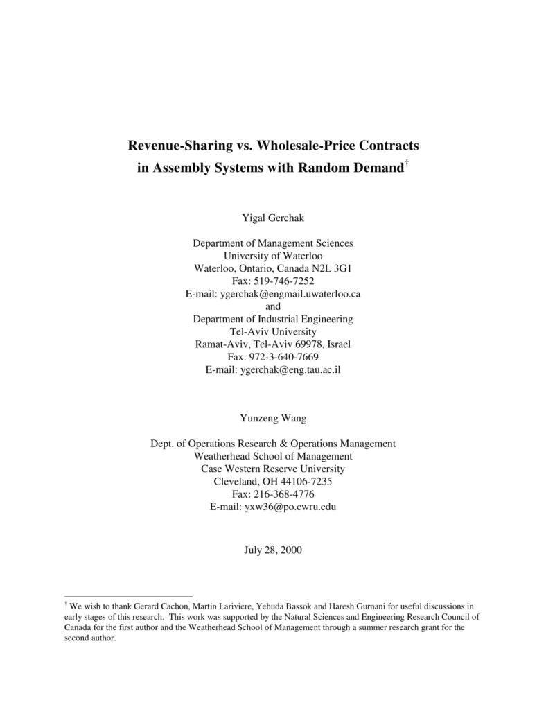 wholesale agreement templates