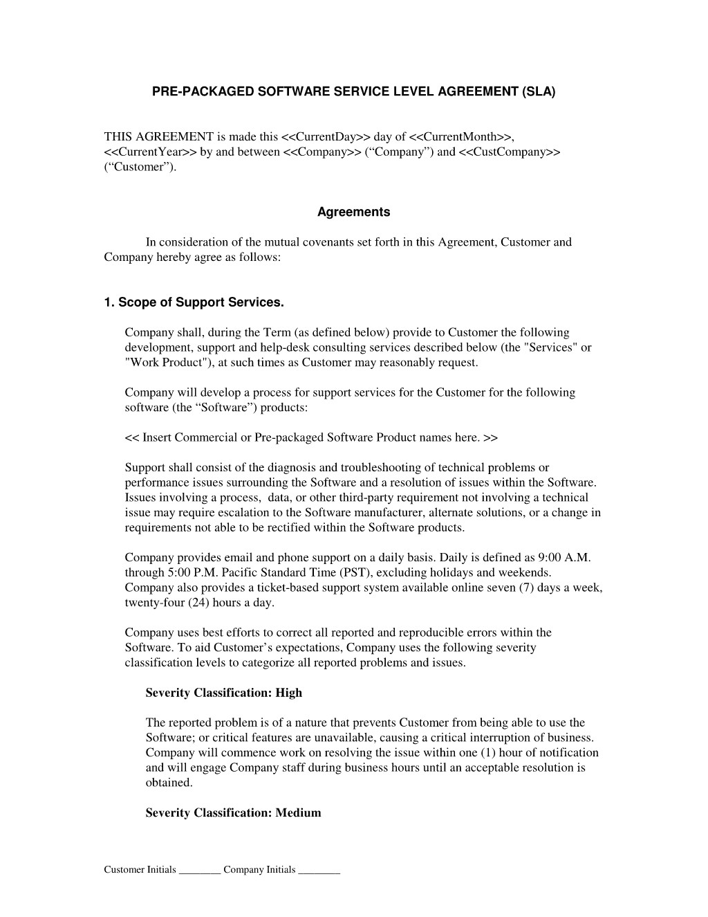 25065 software as a service agreement