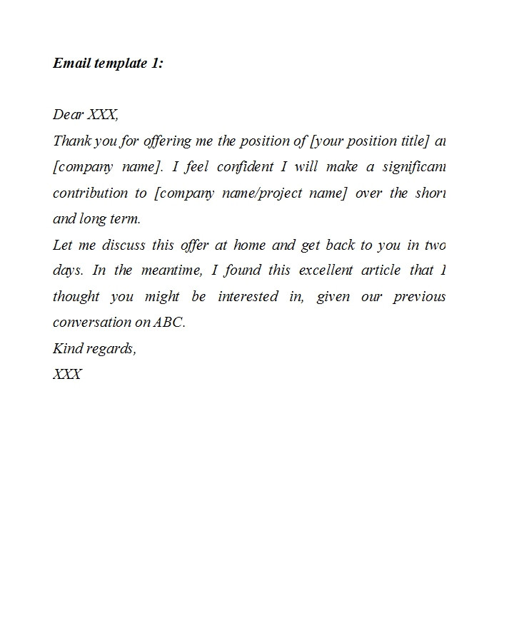 salary negotiation letters