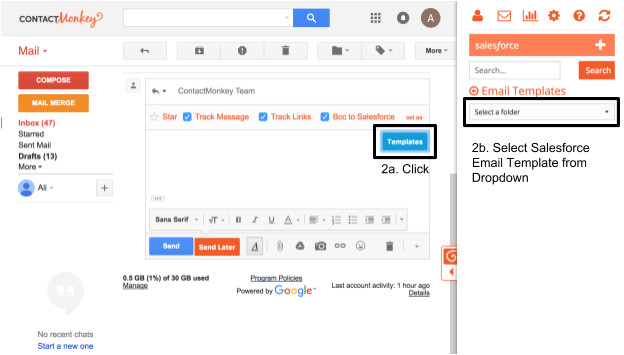 6 steps to using contactmonkey email templates