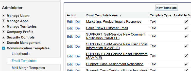 salesforce mass email contacts using