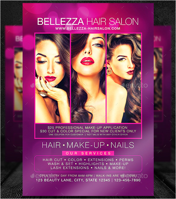 Salon Flyer Templates 78 Beauty Salon Flyer Templates Psd Eps Ai