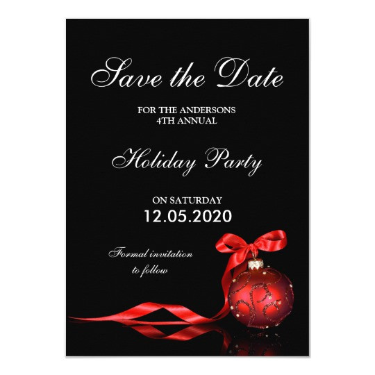 christmas holiday party save the date templates 256114396254269926