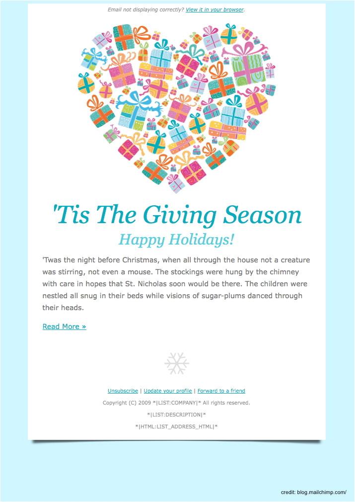 Seasons Greetings Email Template Free Finding the Right Holiday Greetings Email Template Mailbird