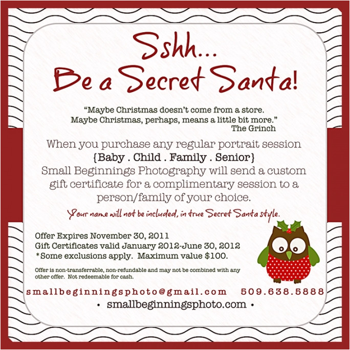 p secret santa office invitations 2206689