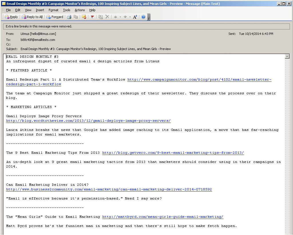 best practices for plain text emails a look at why theyre important