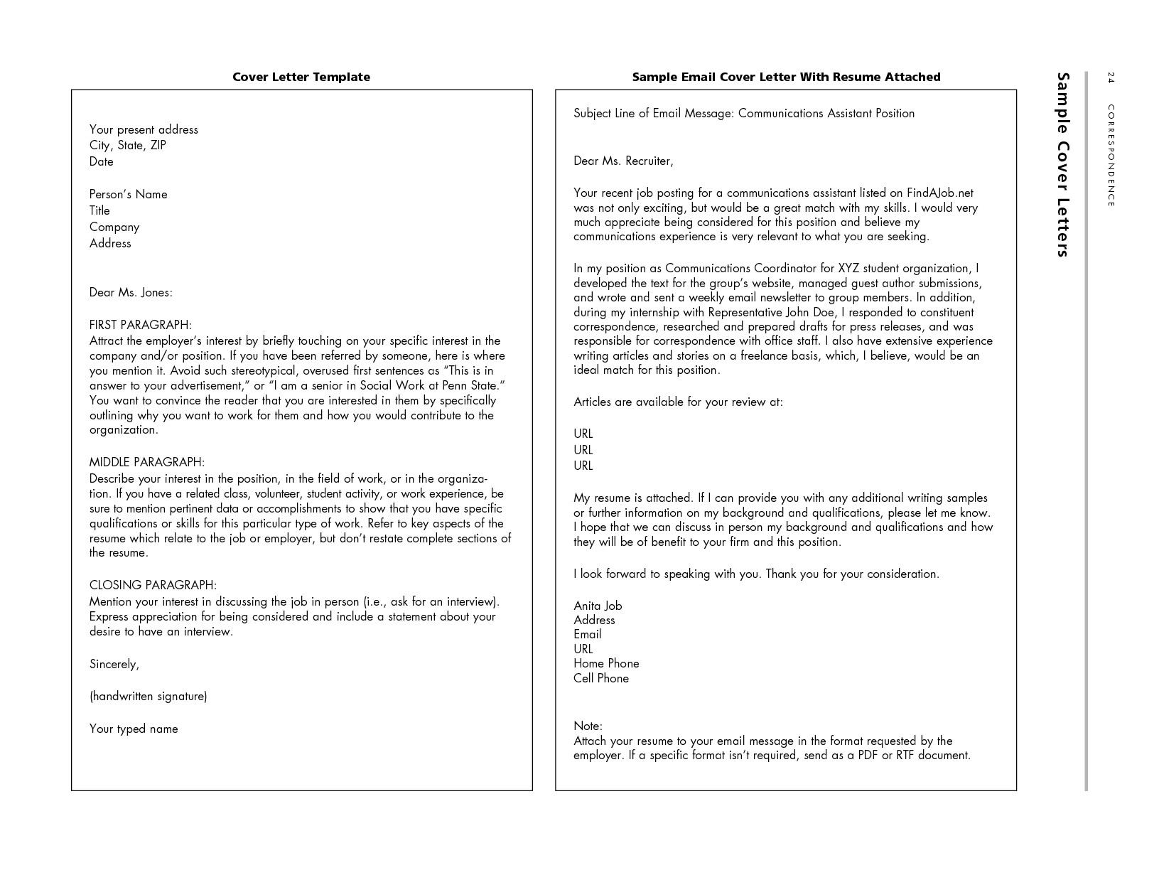 sample resume with photo attached 2748