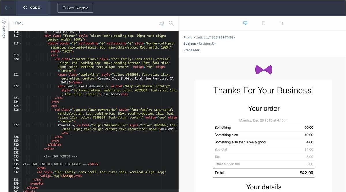 custom sendgrid templates