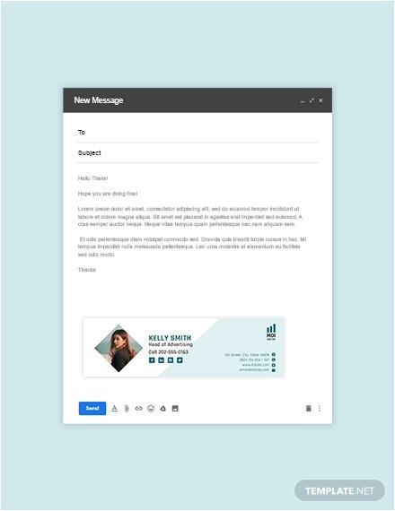 free email signature design templates