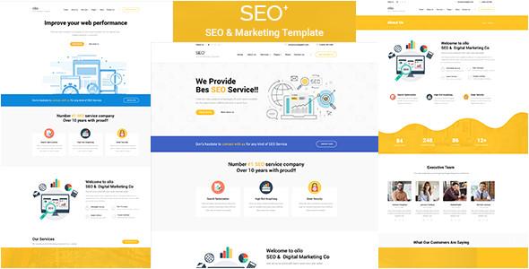 seo seo business html template