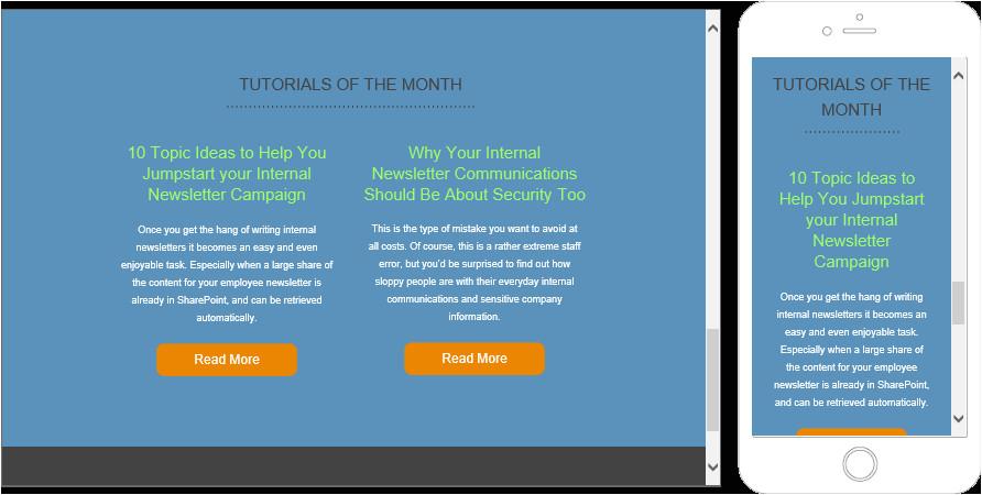 sharepoint newsletter
