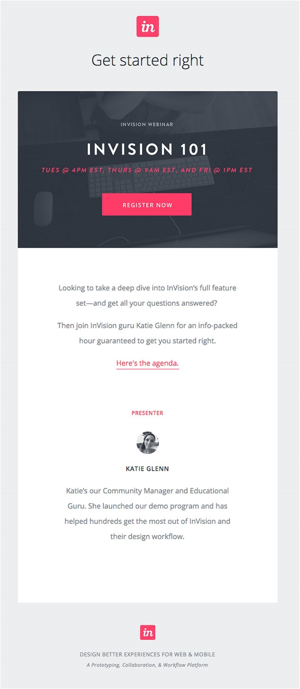 7 tips better email templates