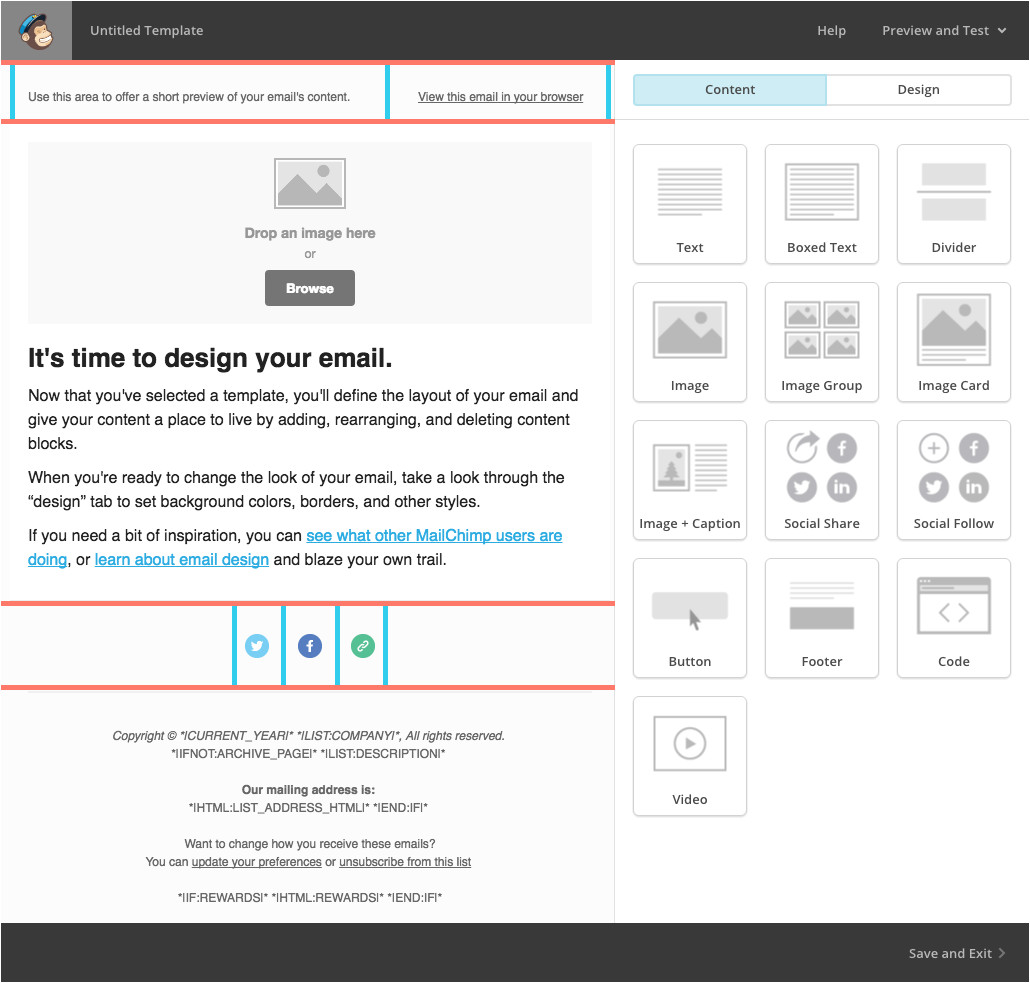 understanding email layout and structure