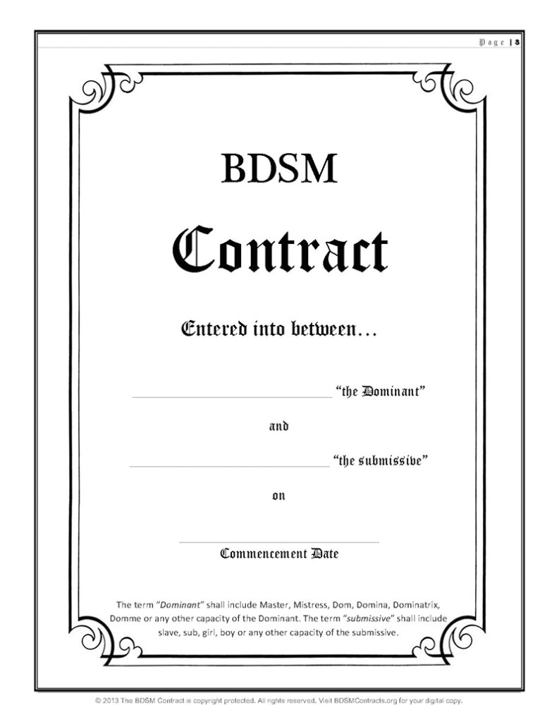 gay contract
