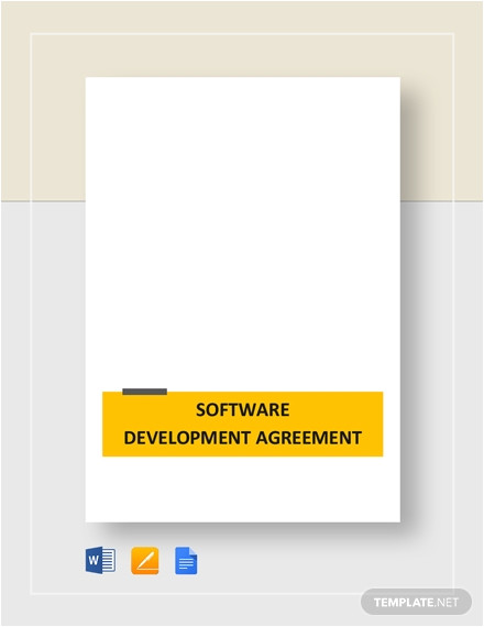 software development outsourcing contract
