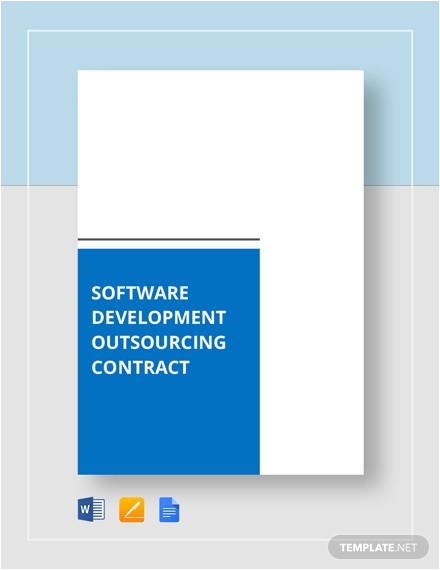 Software Development Outsourcing Contract Template Technical Proposal for software Development Template