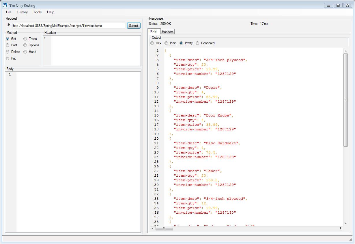 java spring mvc email example using apache velocity