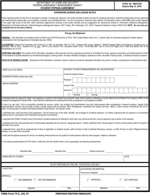 stipend agreement