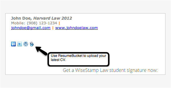 student email signatures