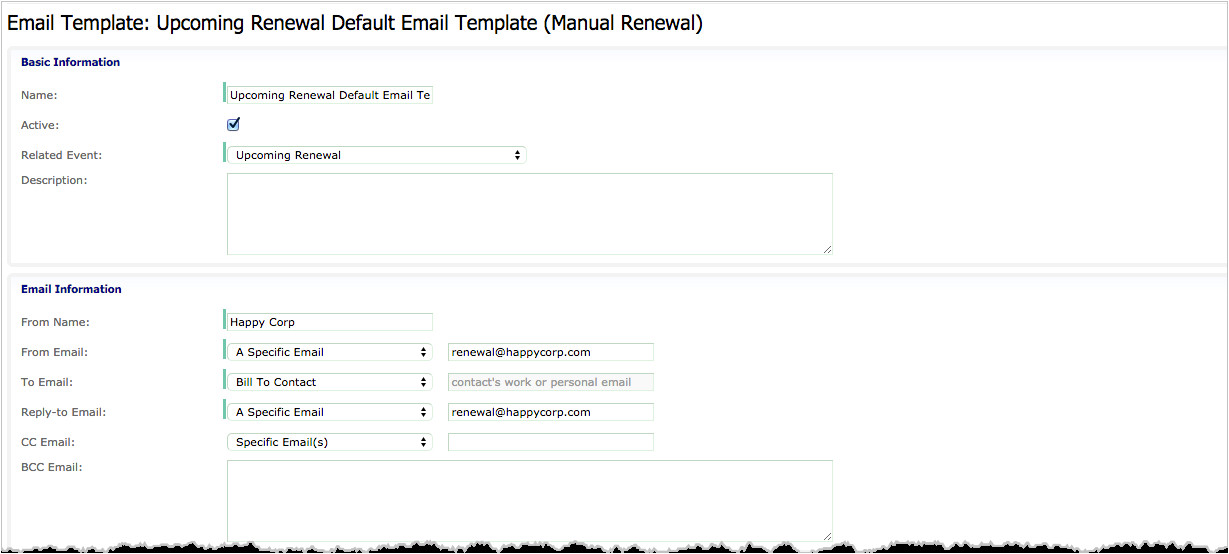how do i automatically notify my customers of subscriptions coming up for renewal 3f