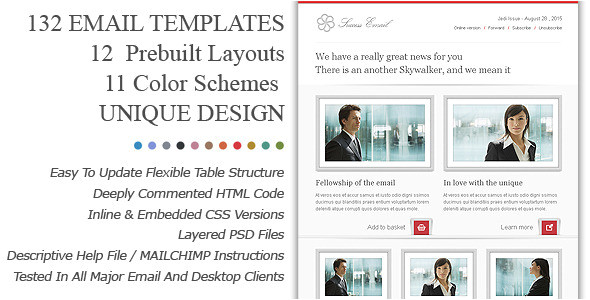 45 email templates for your marketing campaign