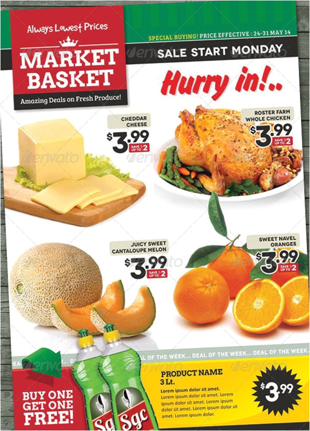 grocery flyer