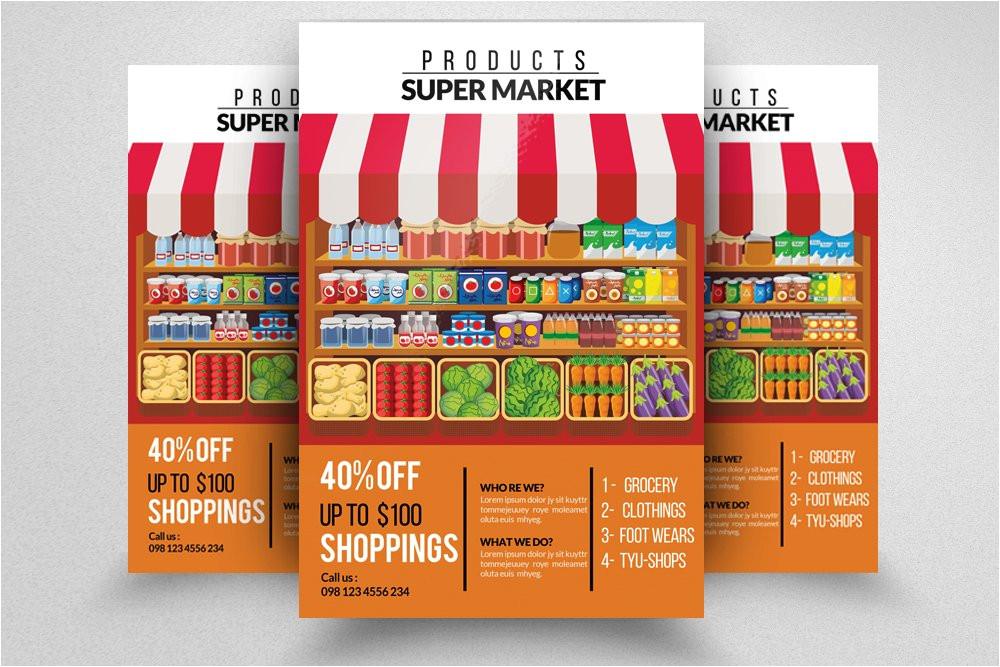 849150 supermarket promotion flyer