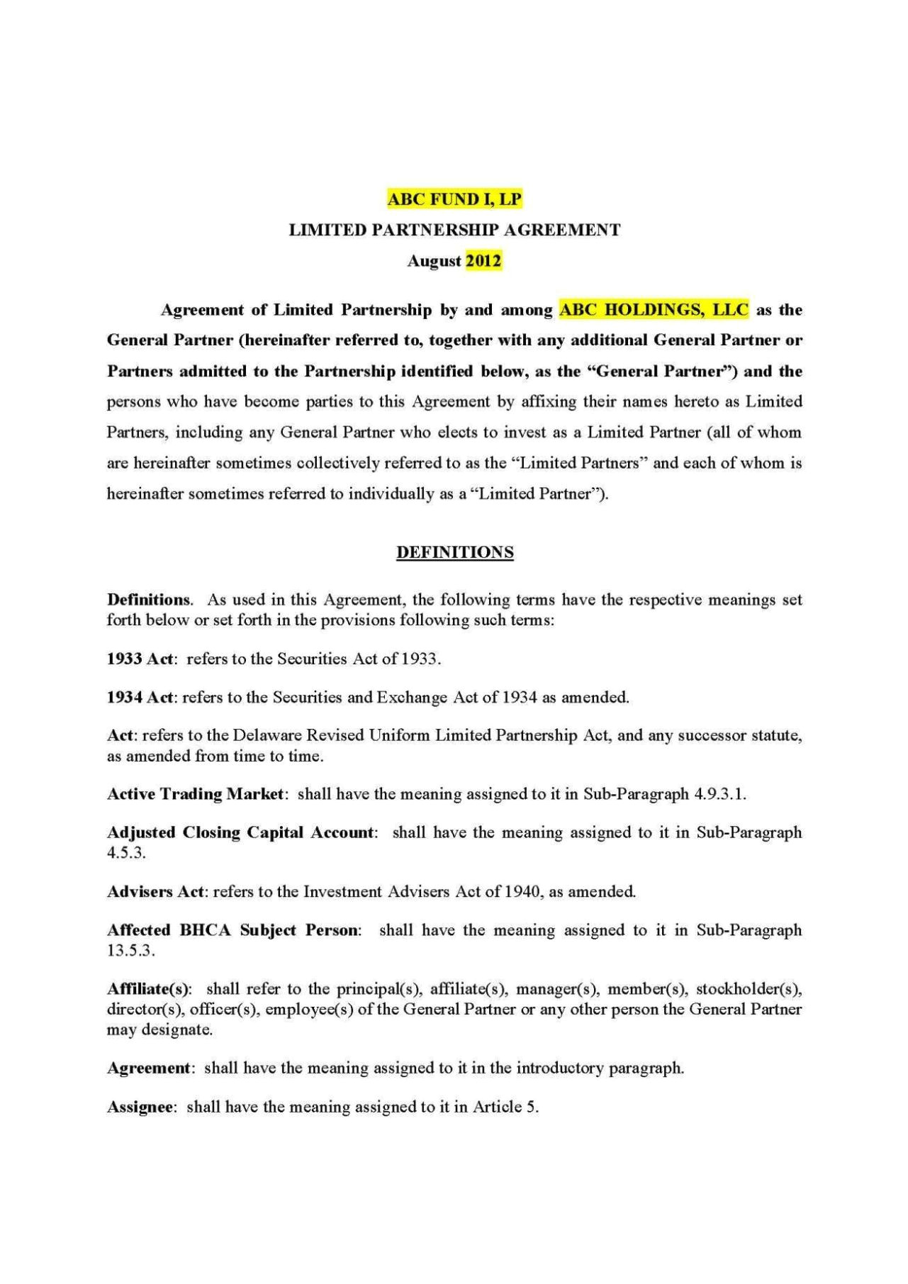 Sweat Equity Contract Template Sweat Equity Agreement Template Sampletemplatess
