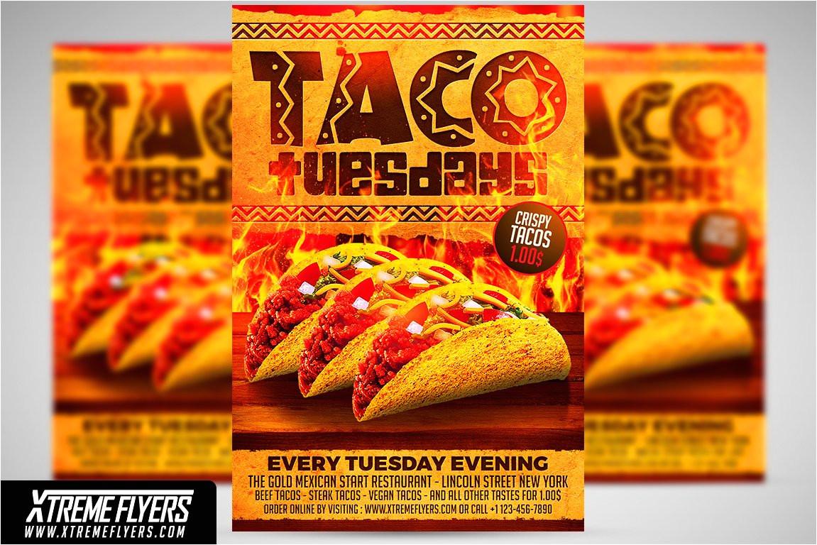 1811360 taco tuesdays flyer template
