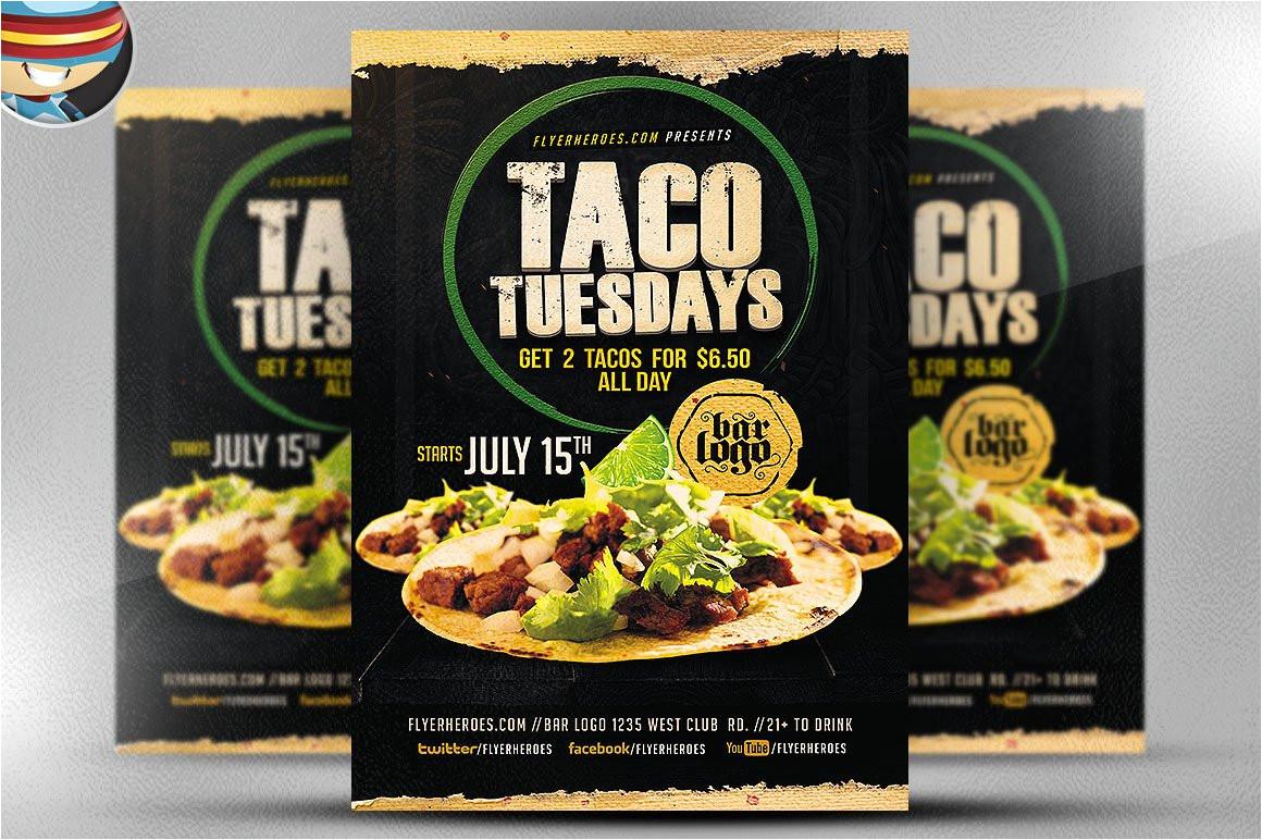 751258 taco tuesdays flyer template