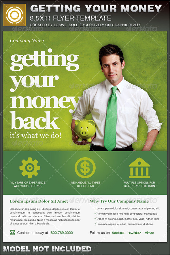 gimme the money flyer graphicriver