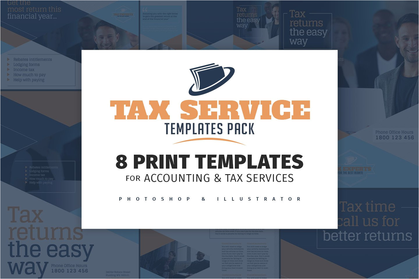 1242178 tax service templates pack
