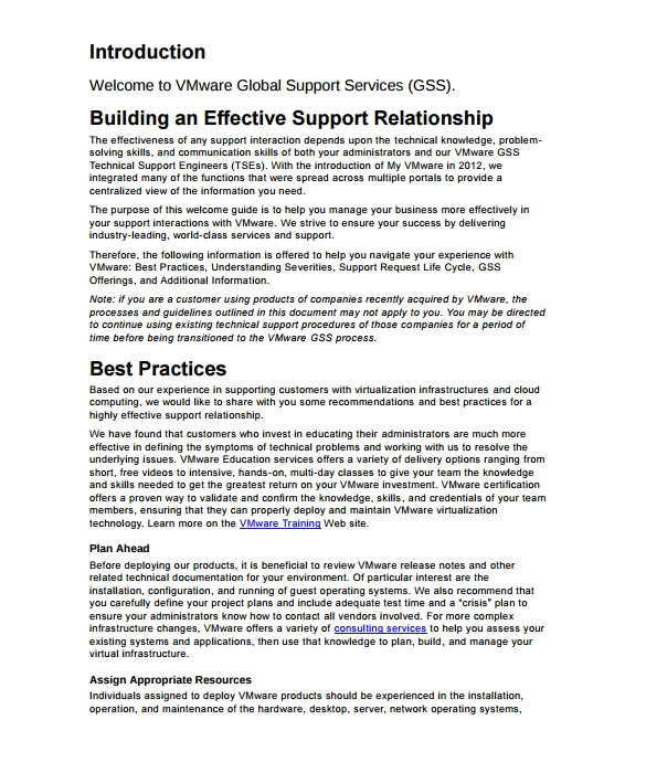 Tech Support Contract Template It Support Contract Template 9 Download Documents In